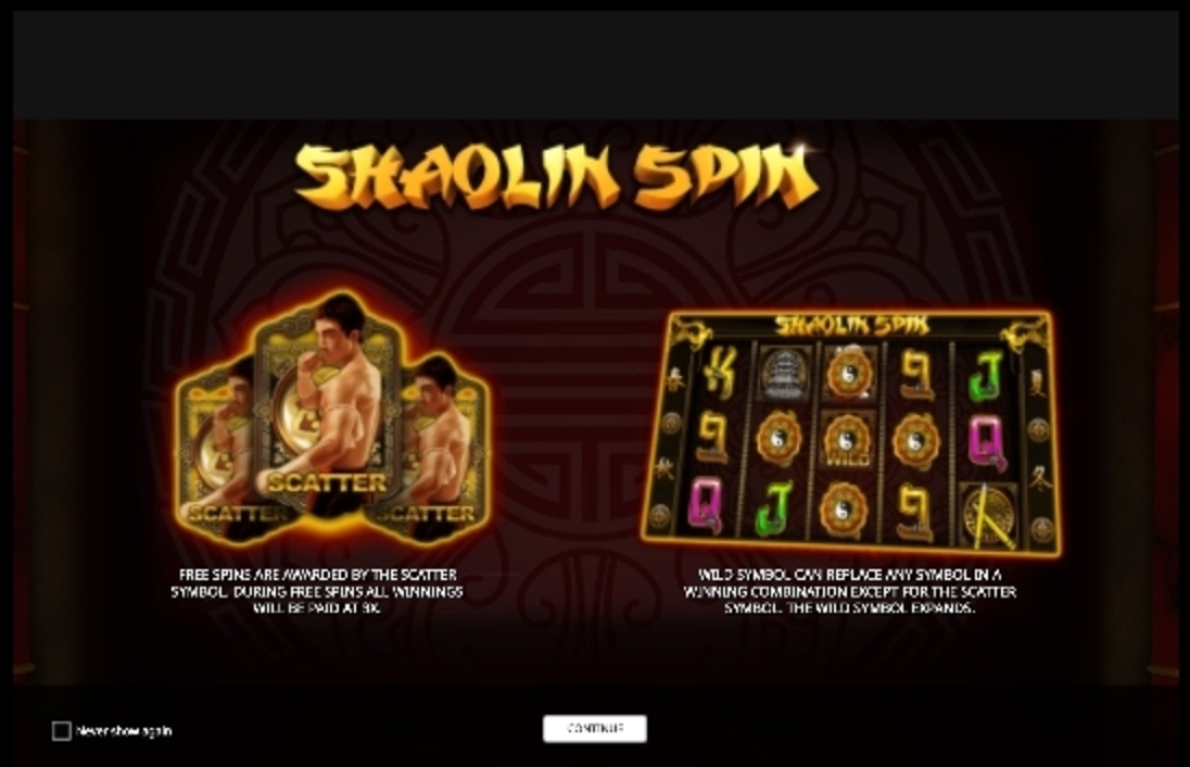 Play Shaolin Spin Free Casino Slot Game by iSoftBet