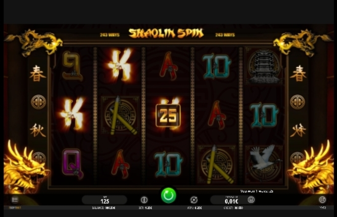 Win Money in Shaolin Spin Free Slot Game by iSoftBet