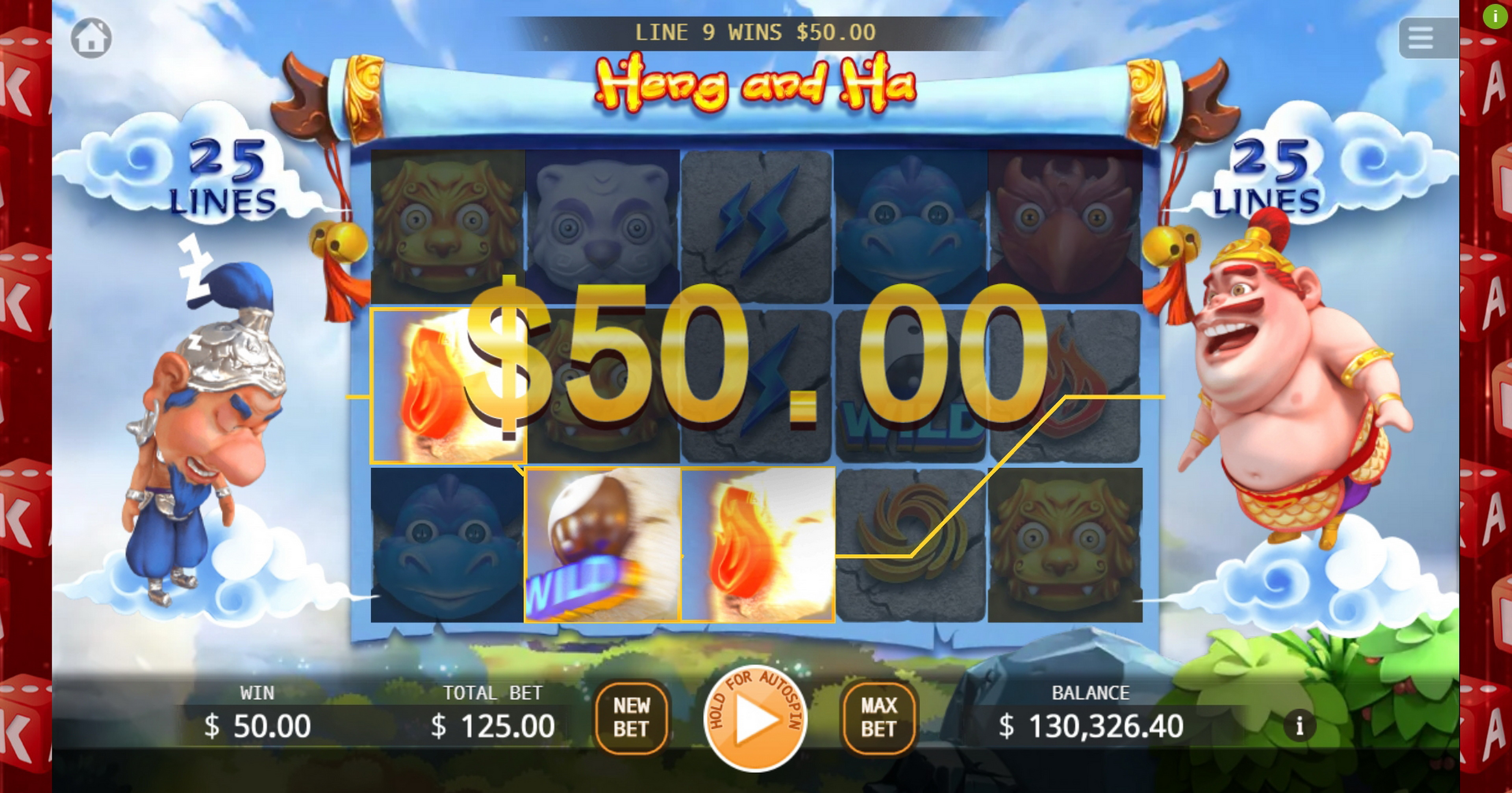 Win Money in Heng and Ha Free Slot Game by KA Gaming