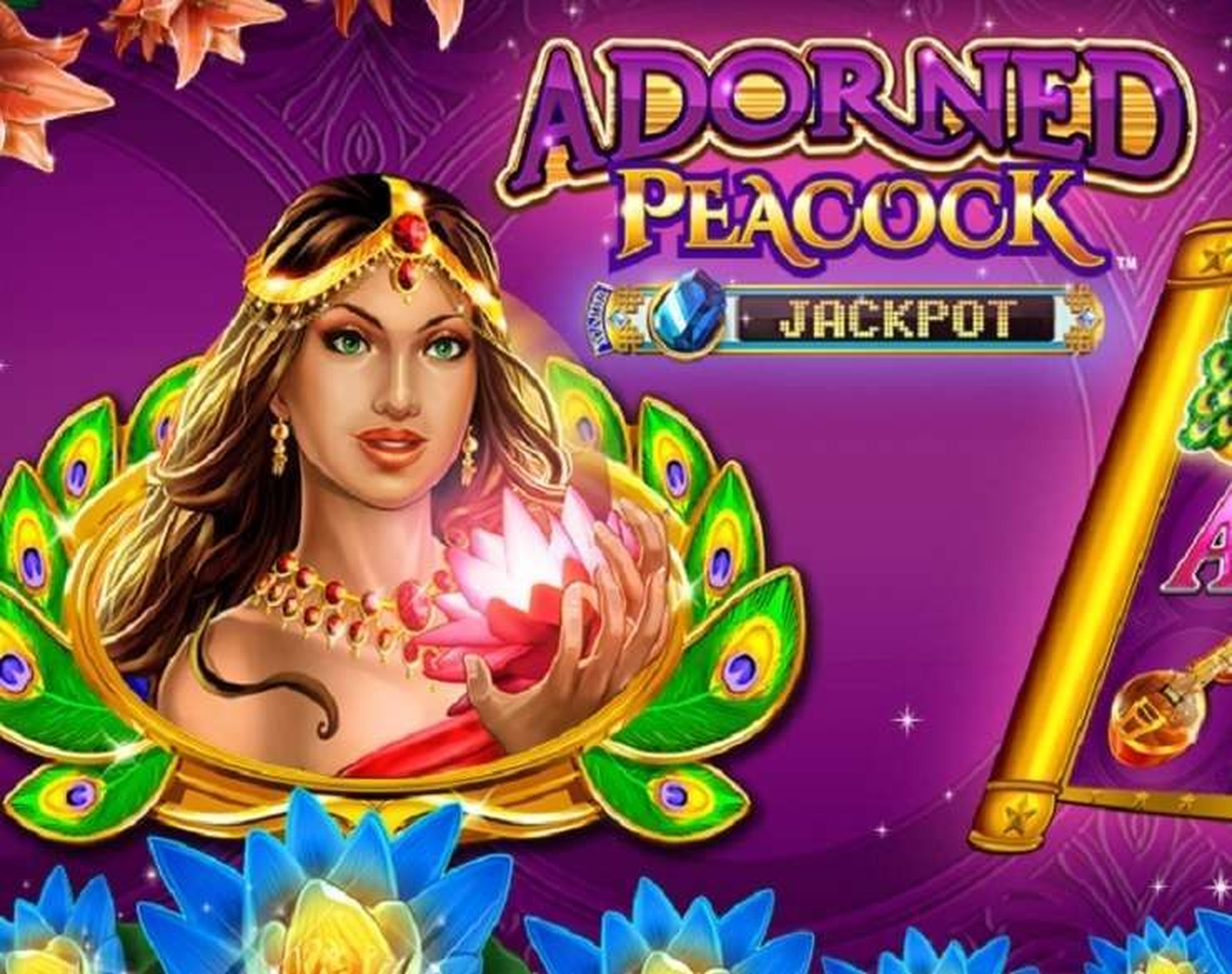 The Adorned Peacock Online Slot Demo Game by Konami Gaming