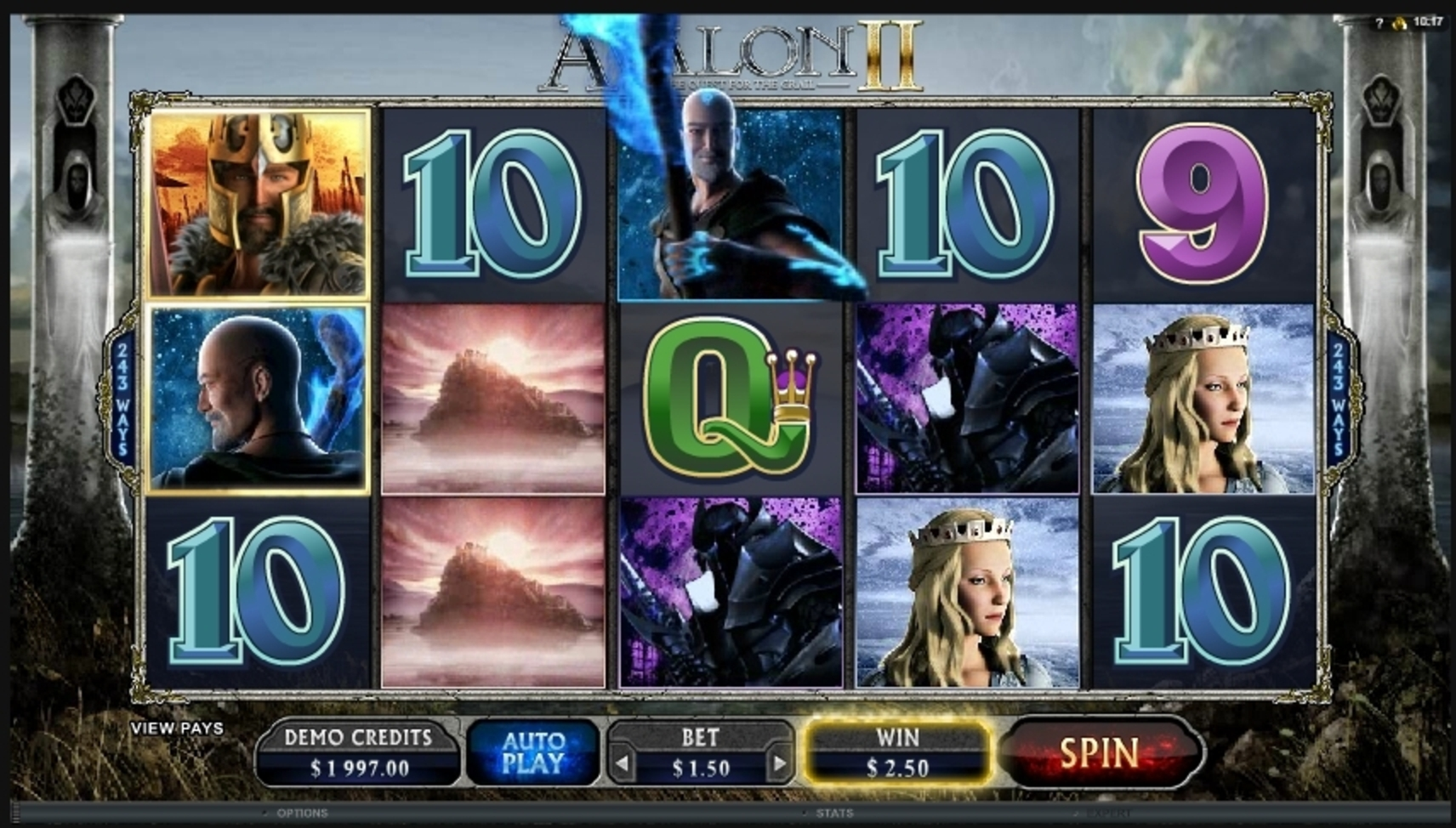 Win Money in Avalon II Free Slot Game by Microgaming