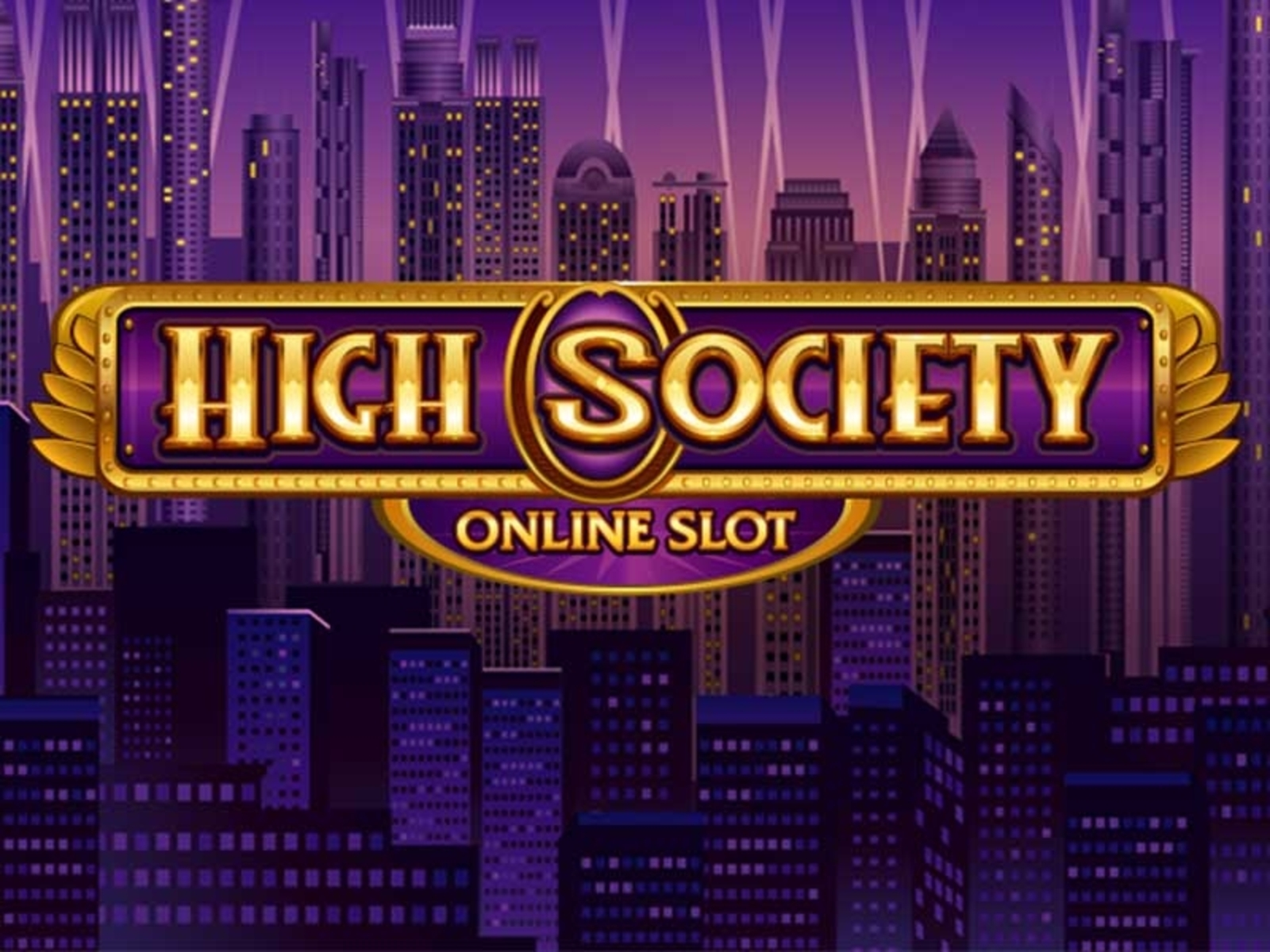 The High Society Online Slot Demo Game by Microgaming