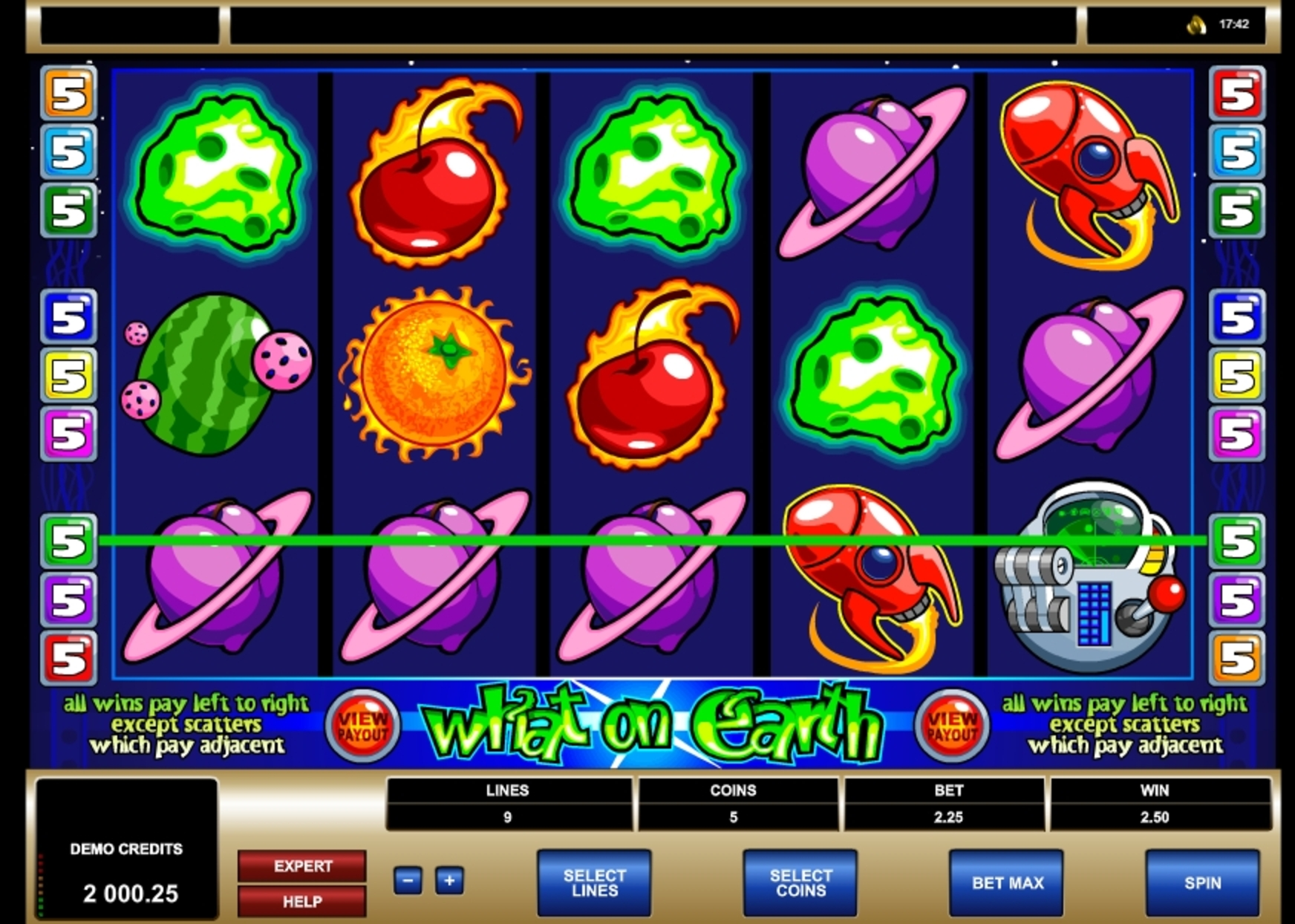Win Money in What on Earth Free Slot Game by Microgaming