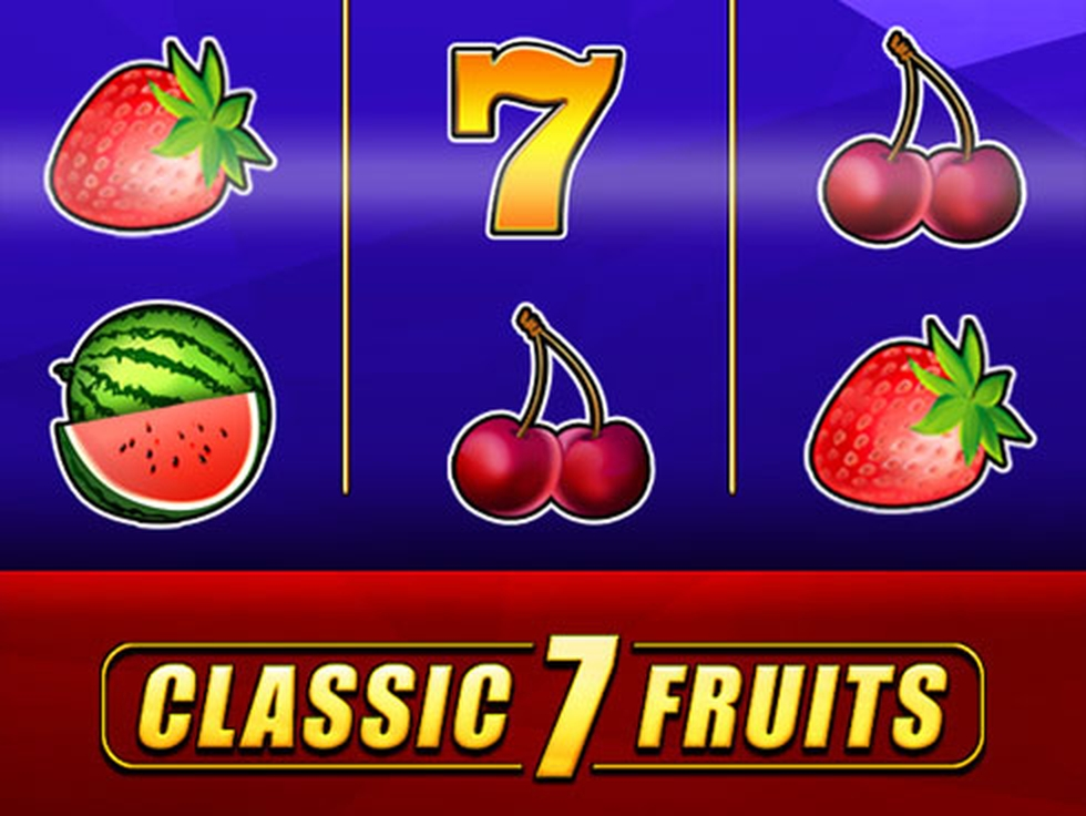 The Classic 7 Fruits Online Slot Demo Game by Mr Slotty