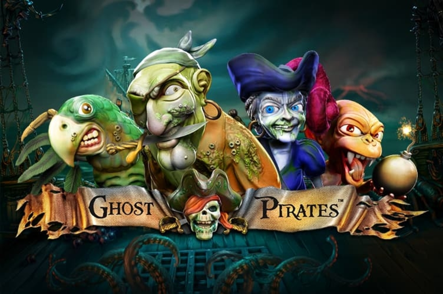 The Ghost Pirates Online Slot Demo Game by NetEnt