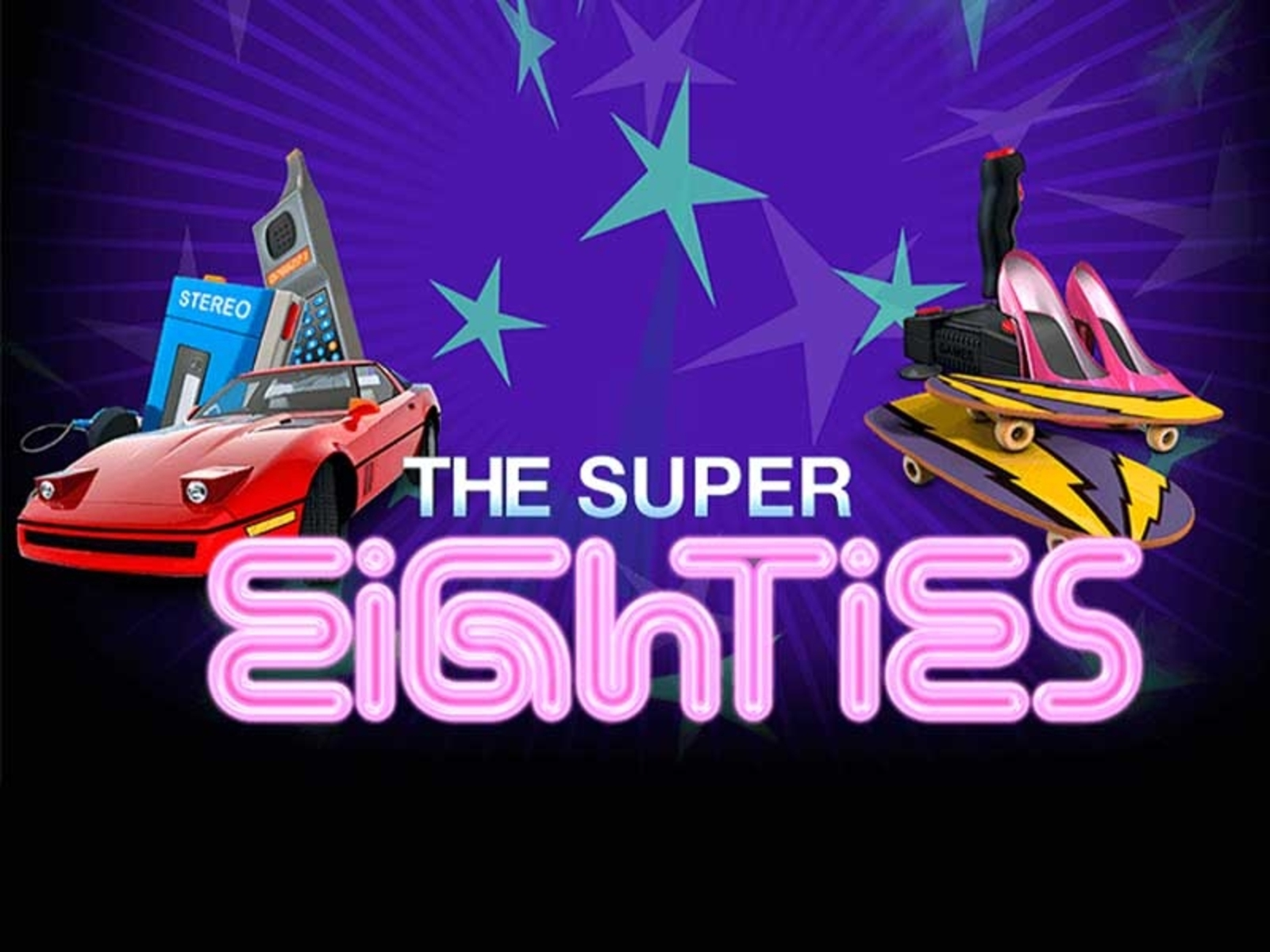 The The Super Eighties Online Slot Demo Game by NetEnt