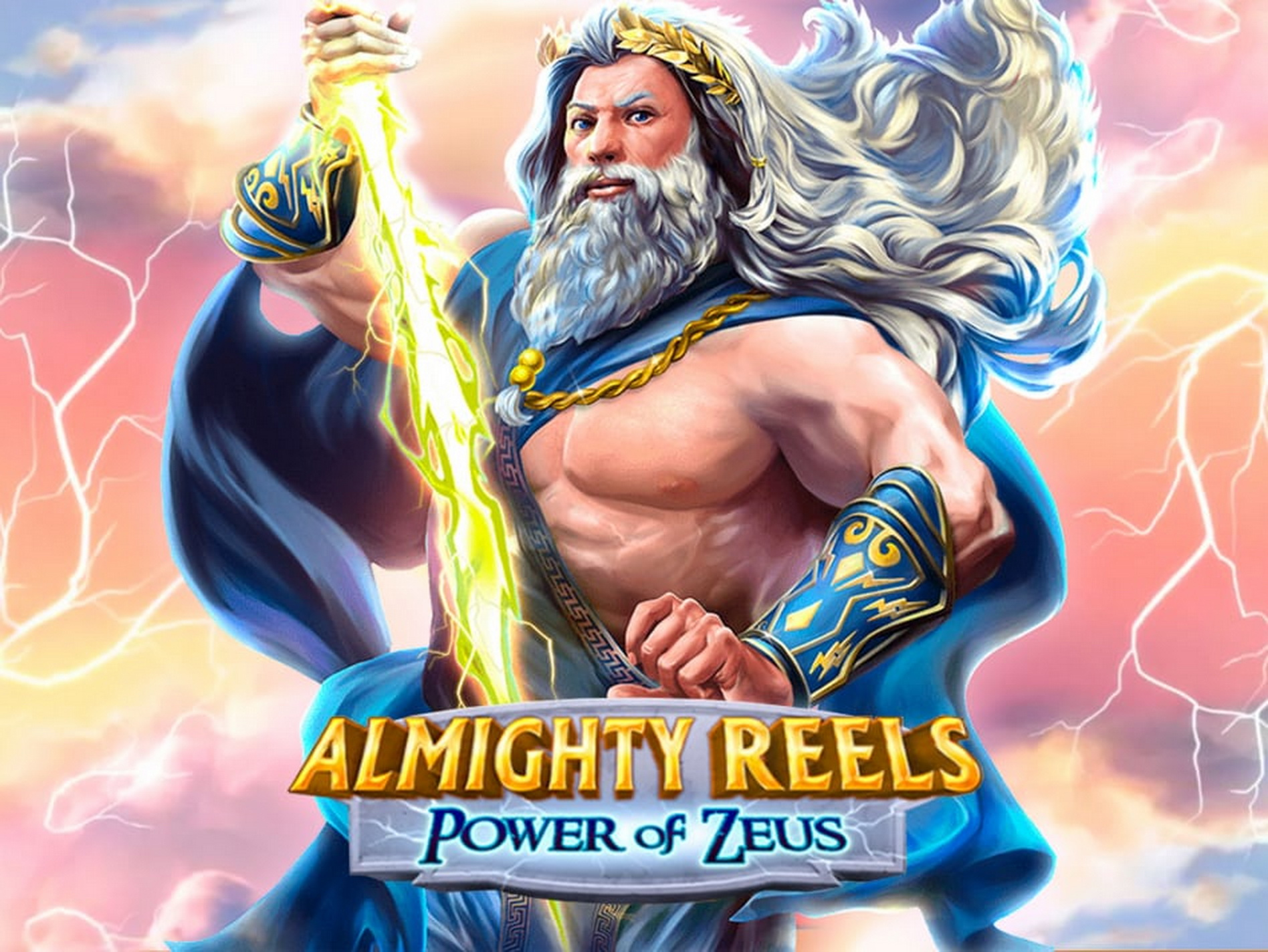 Reels in Almighty Reels Power of Zeus Slot Game by Novomatic