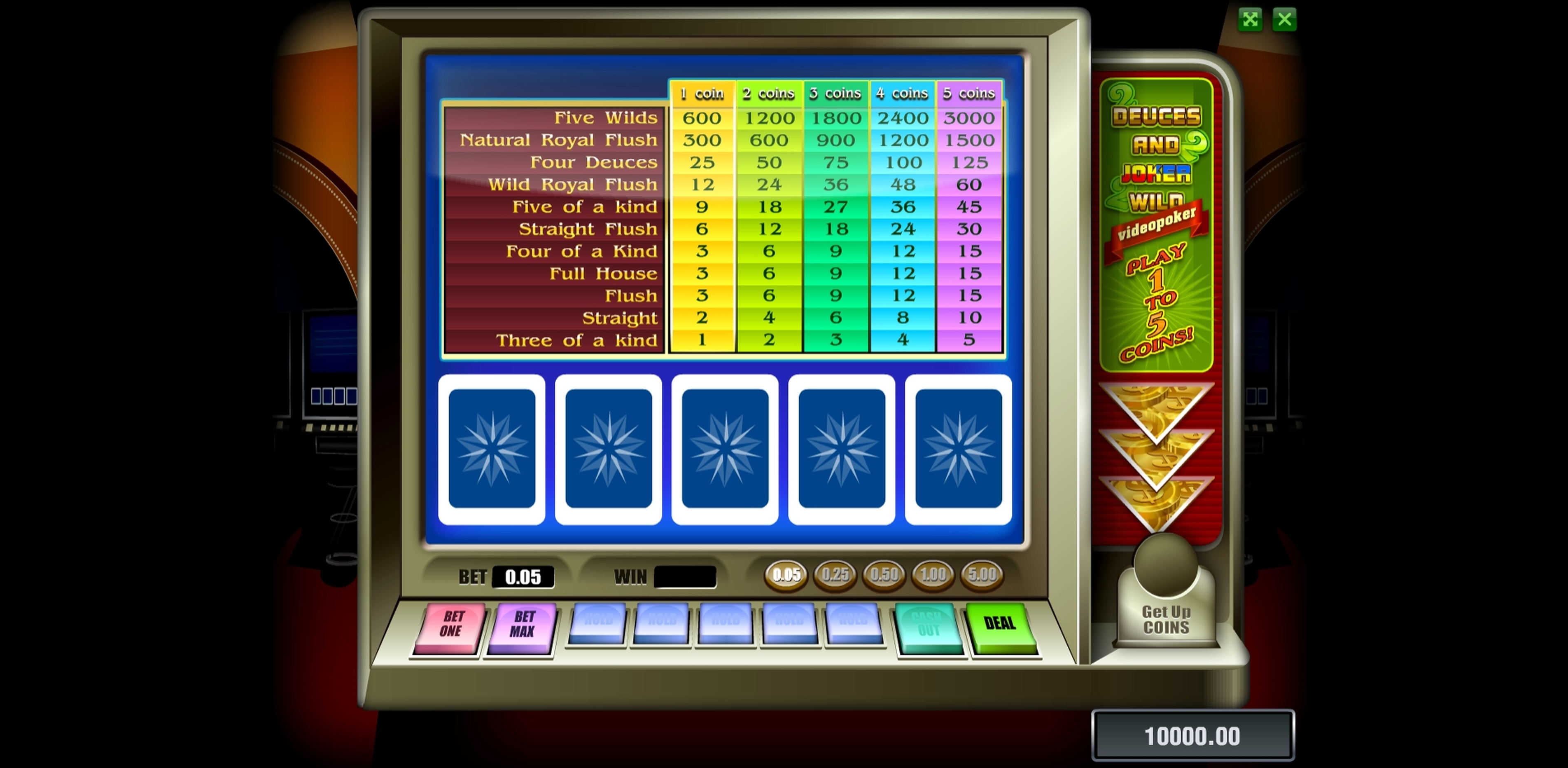 Reels in Deuces And Joker (Novomatic) Slot Game by Novomatic