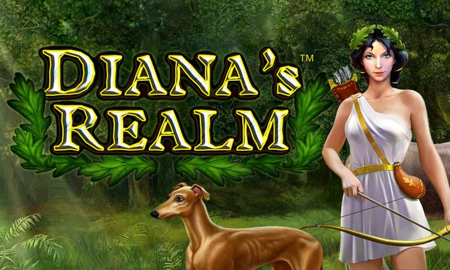 The Dianas Realm Deluxe Online Slot Demo Game by Novomatic