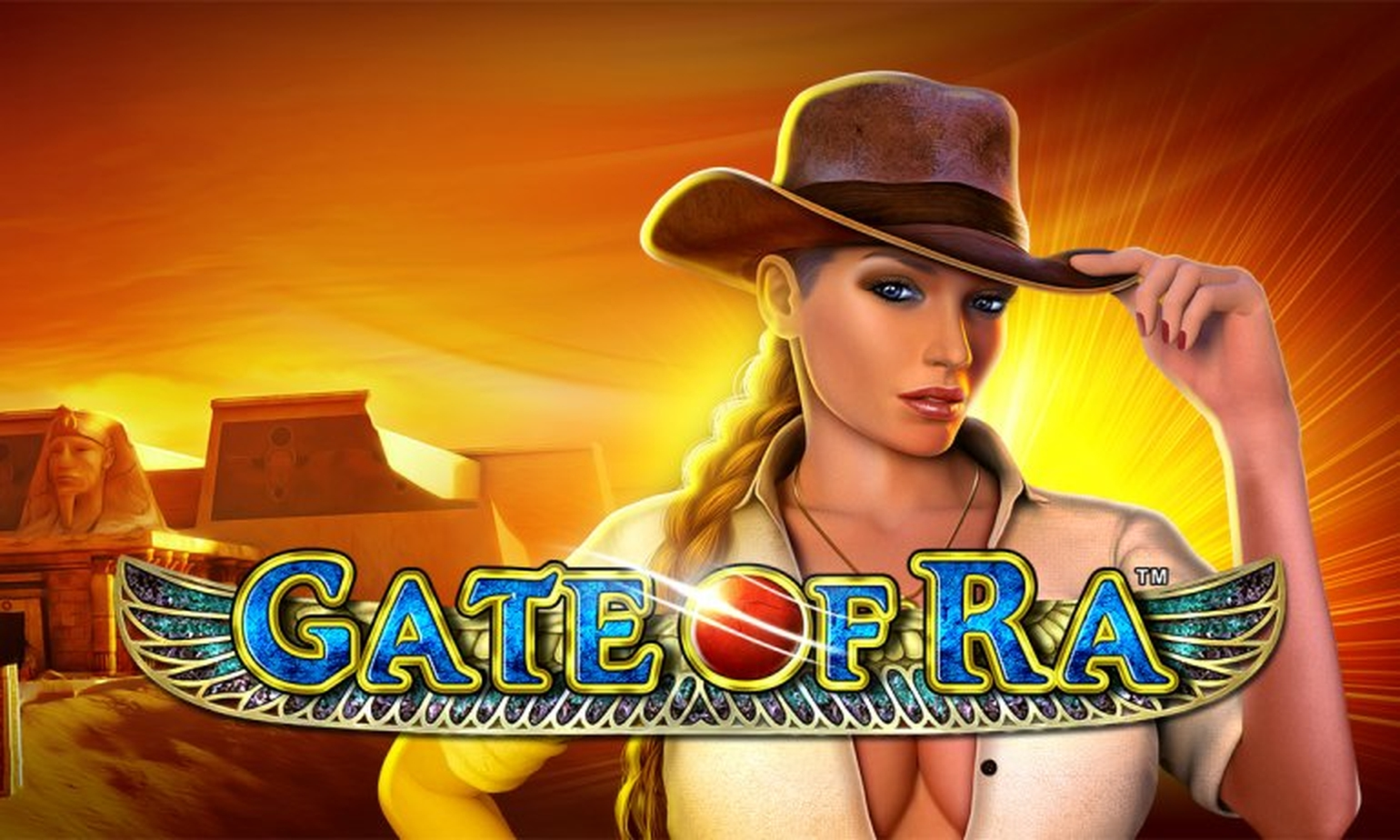 The Gate Of Ra Deluxe Online Slot Demo Game by Novomatic