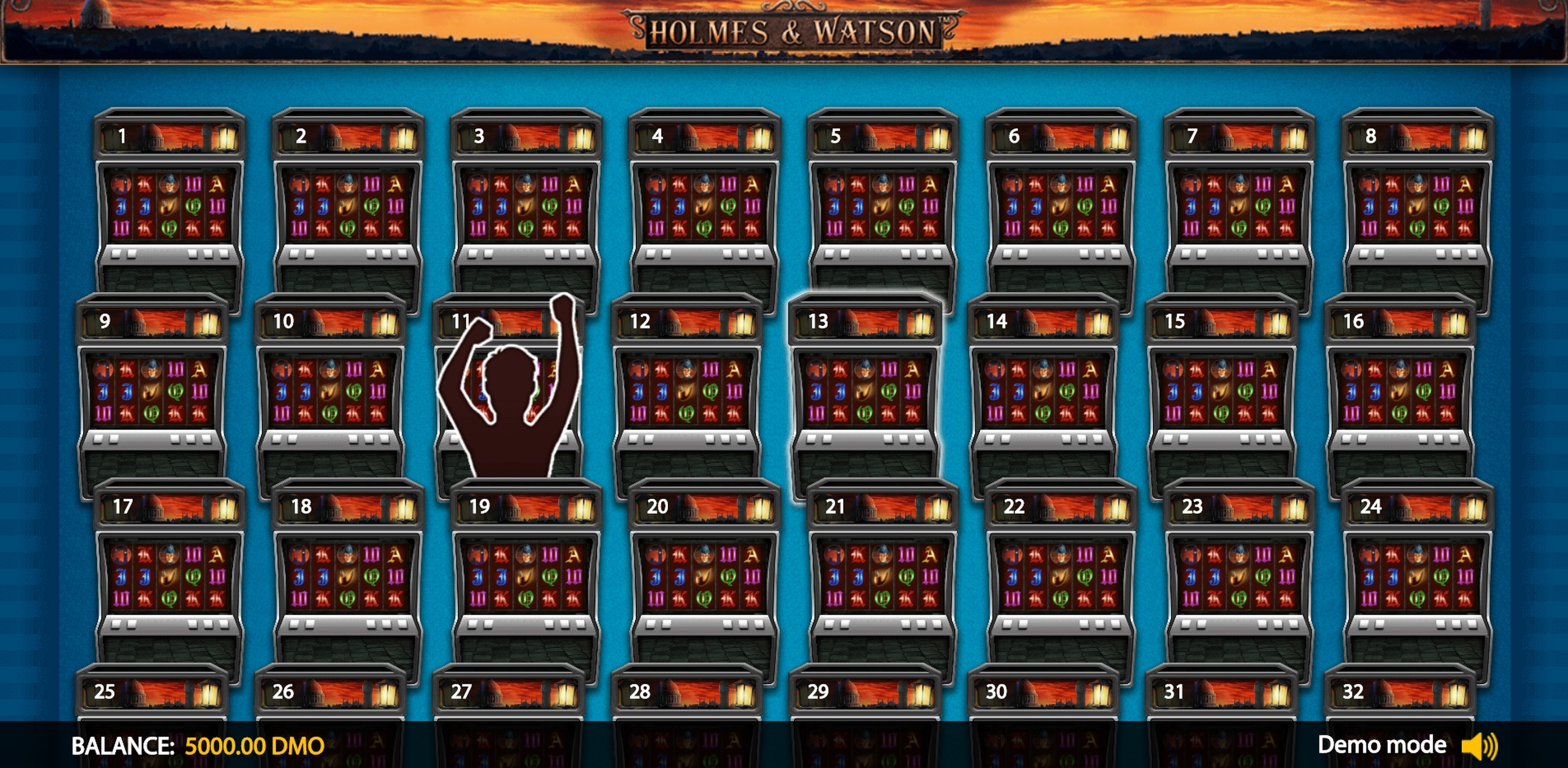 Play Holmes Watson Deluxe Free Casino Slot Game by Novomatic