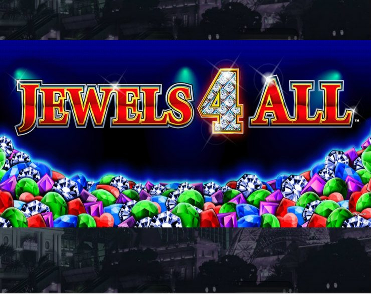 The Jewels 4 All Deluxe	 Online Slot Demo Game by Novomatic
