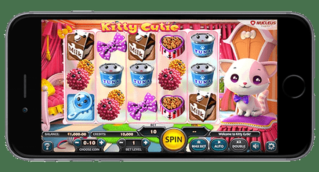 The Kitty Cutie Online Slot Demo Game by Nucleus Gaming