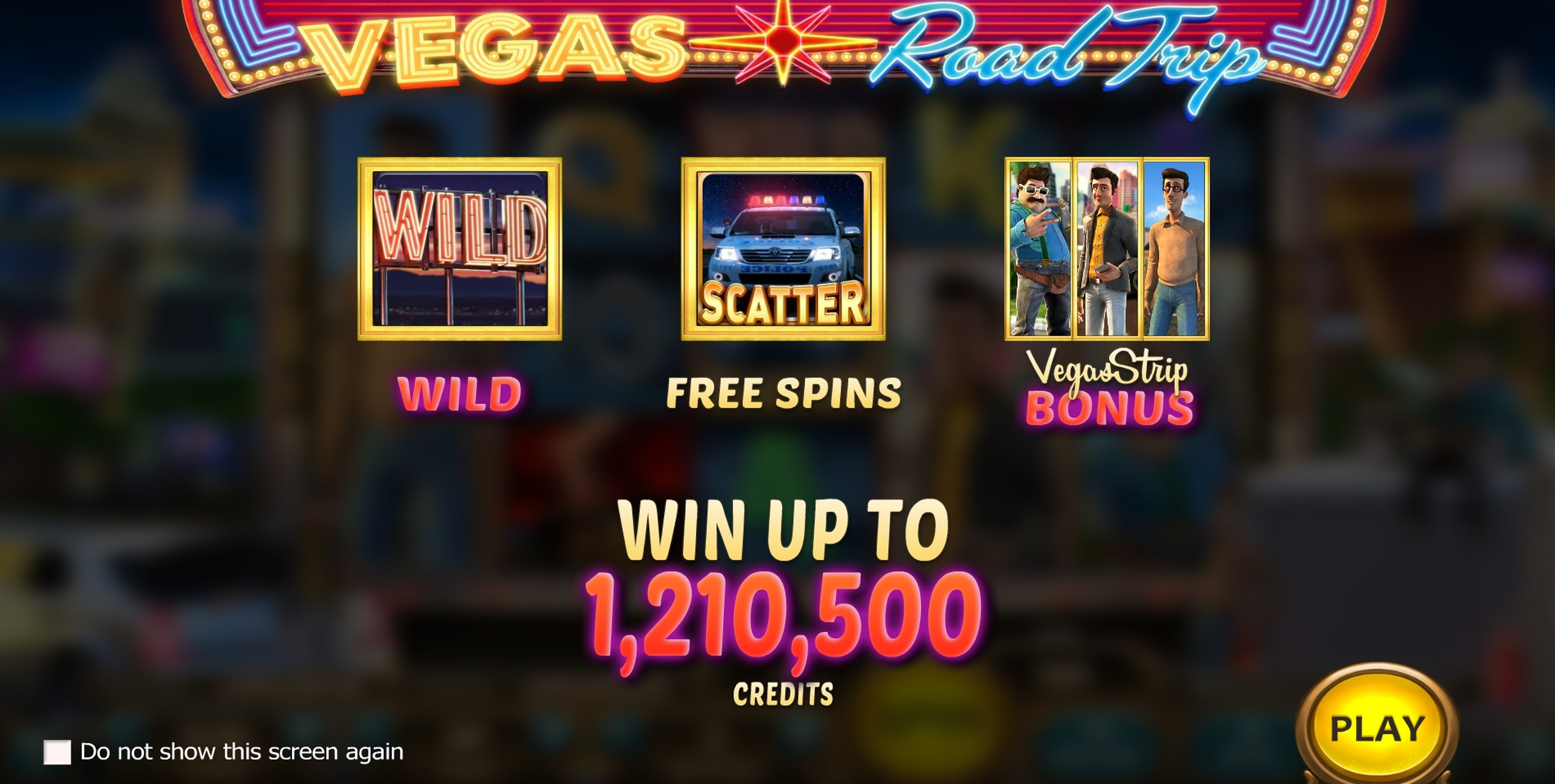 Play Vegas Road Trip Free Casino Slot Game by Nucleus Gaming