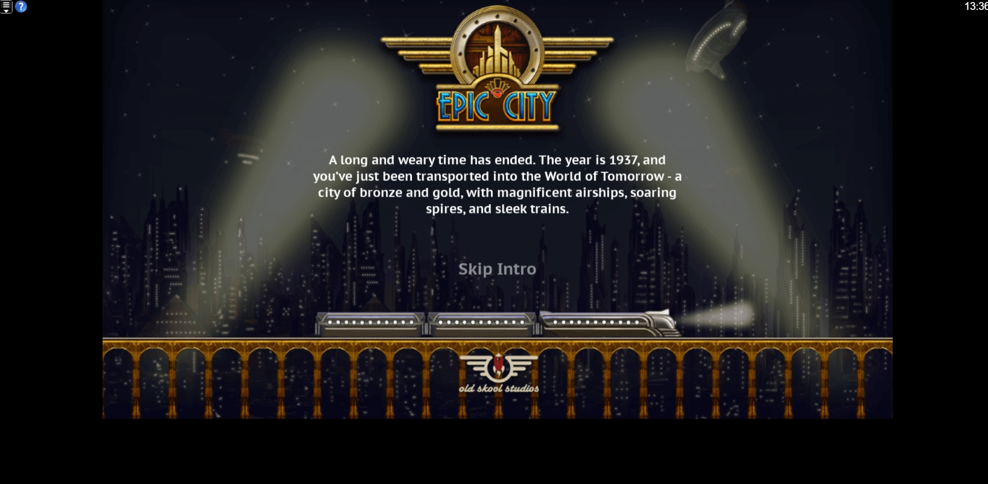 Play Epic City Free Casino Slot Game by Old Skool Studios