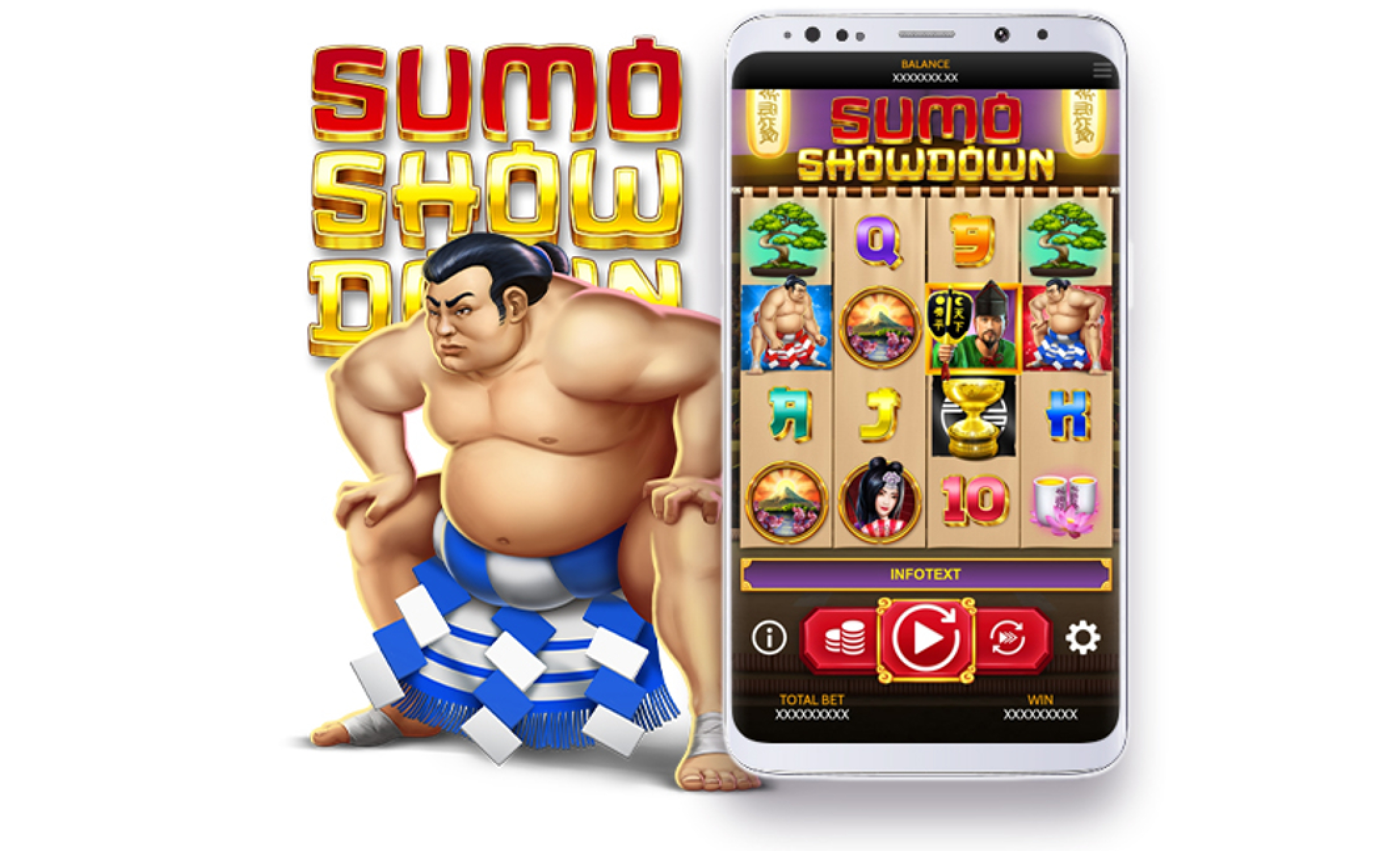 The Sumo Showdown Online Slot Demo Game by OneTouch Games