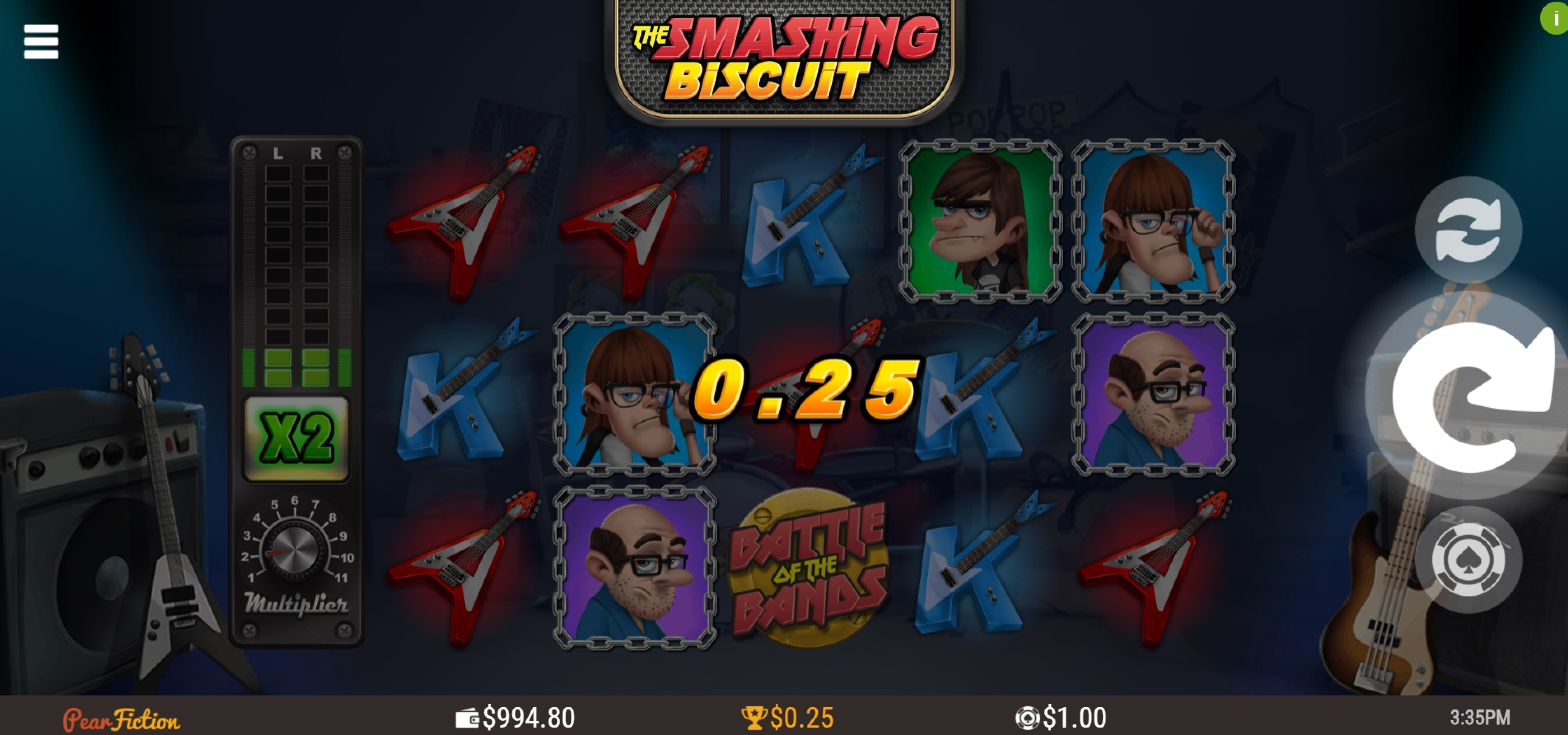Win Money in The Smashing Biscuit Free Slot Game by PearFiction Studios
