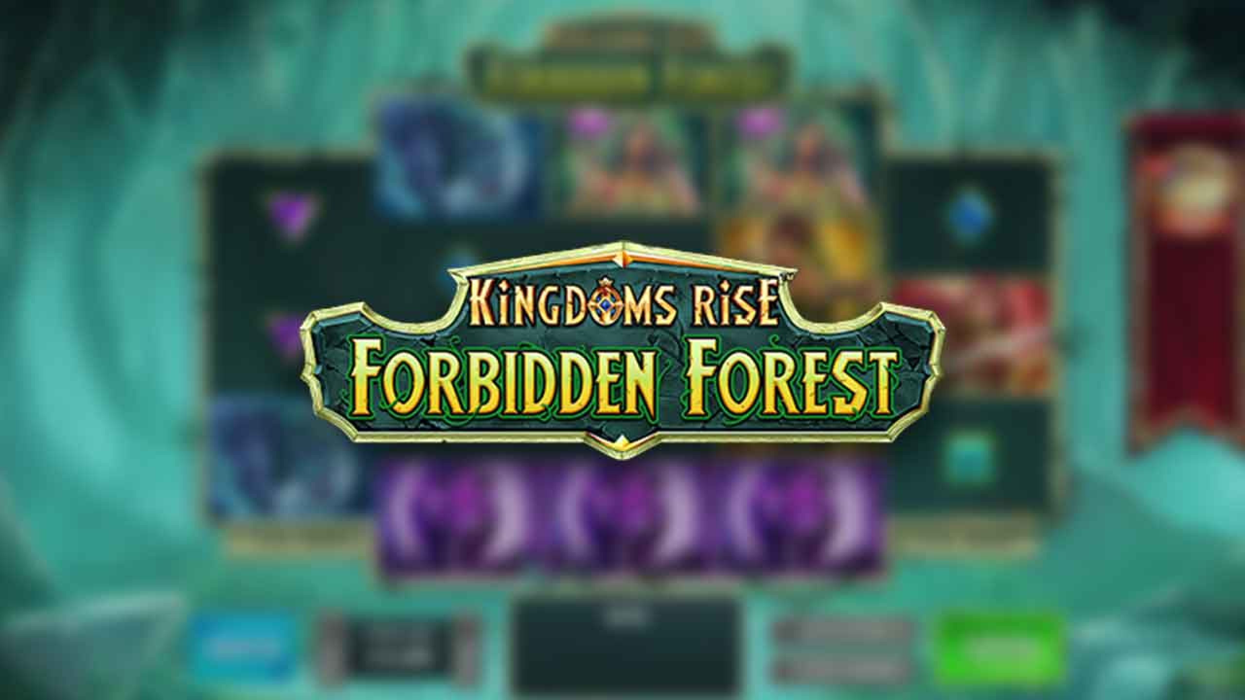 The Kingdoms Rise: Forbidden Forest Online Slot Demo Game by Playtech Origins