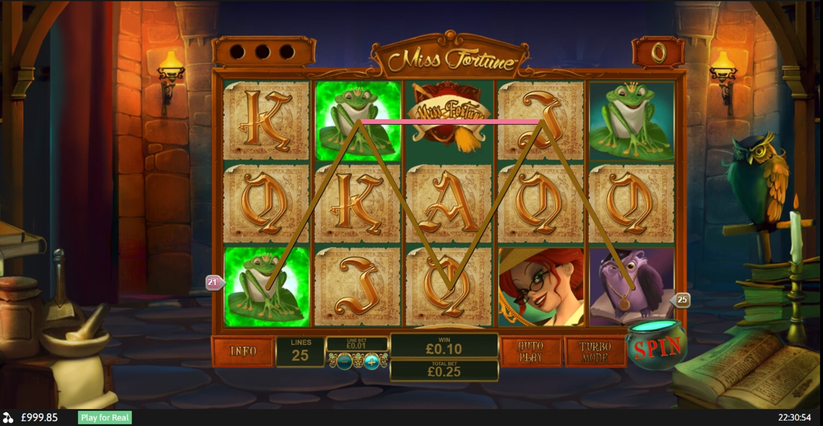 Win Money in Miss Fortune Free Slot Game by Playtech
