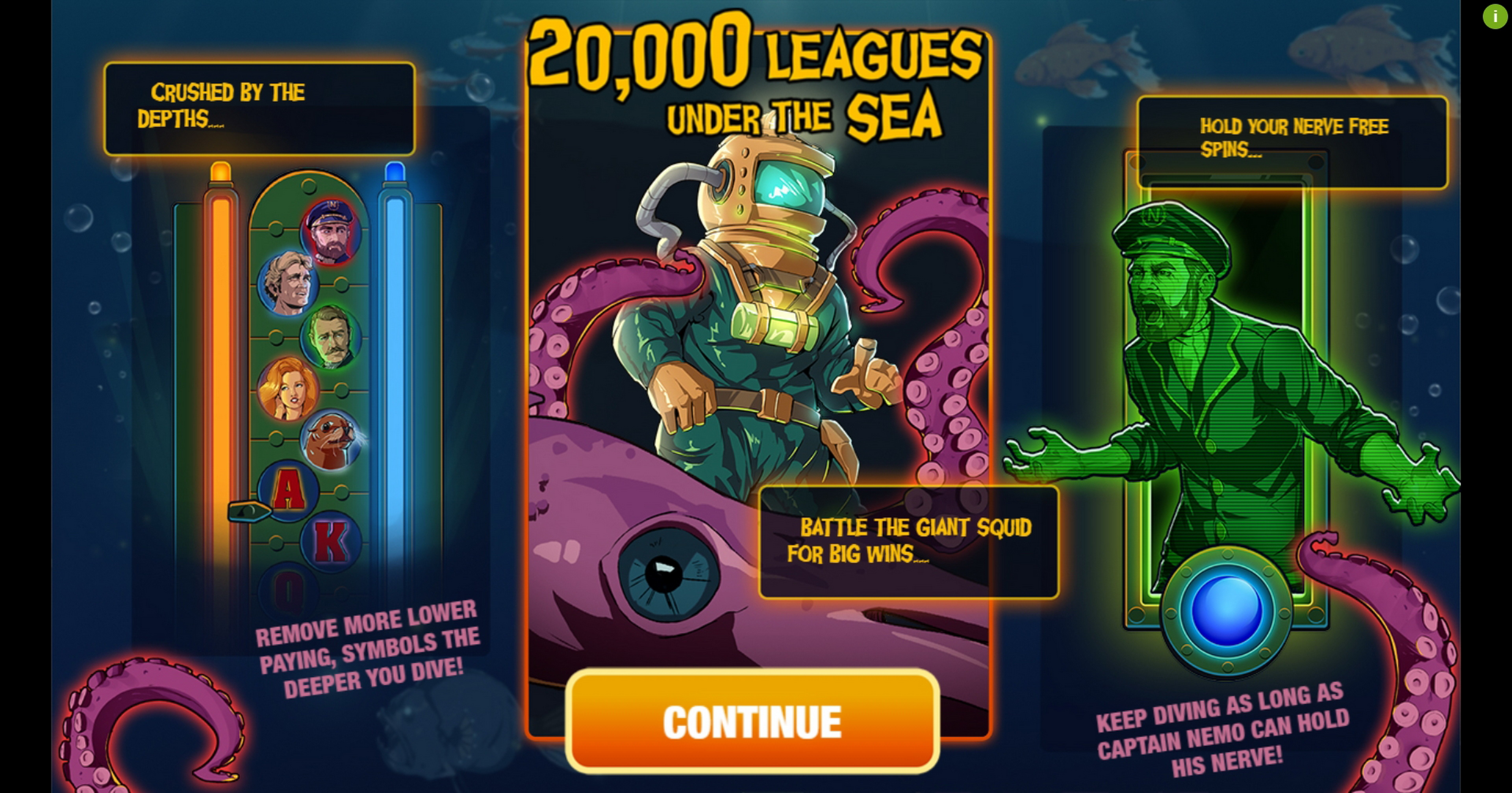 Play 20000 Leagues Under The Sea Free Casino Slot Game by Probability Jones