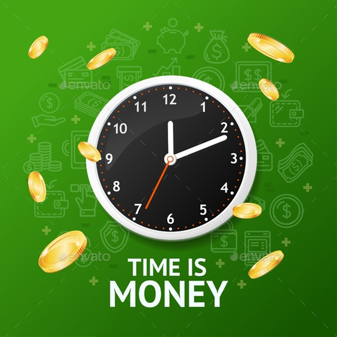 The Time is money Online Slot Demo Game by Realistic Games