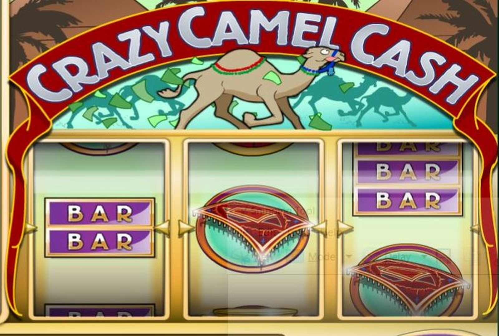 The Crazy Camel Cash Online Slot Demo Game by Rival