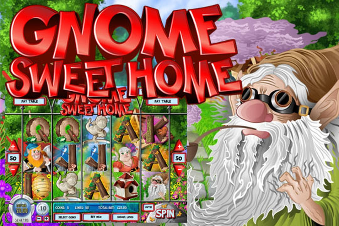 The Gnome Sweet Home Online Slot Demo Game by Rival