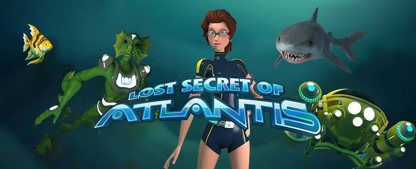 The Lost Secret of Atlantis Online Slot Demo Game by Rival