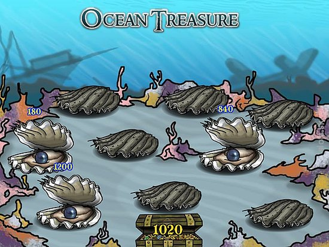 The Ocean Treasure Online Slot Demo Game by Rival