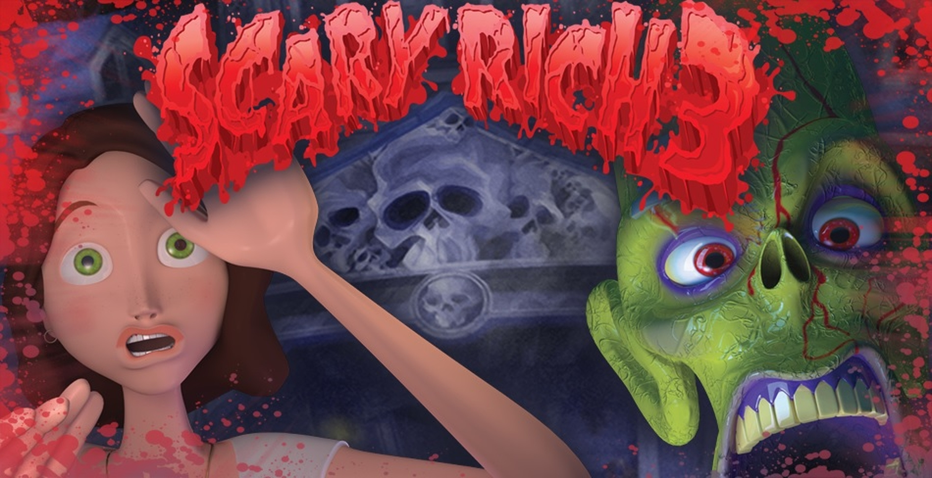 The Scary Rich 3 Online Slot Demo Game by Rival