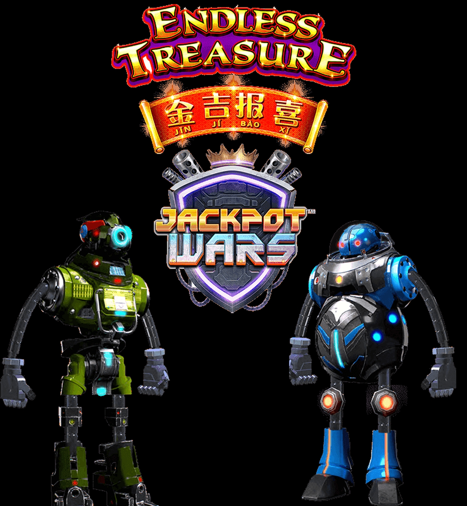 The Endless Treasure Jackpot Wars Online Slot Demo Game by SG Interactive