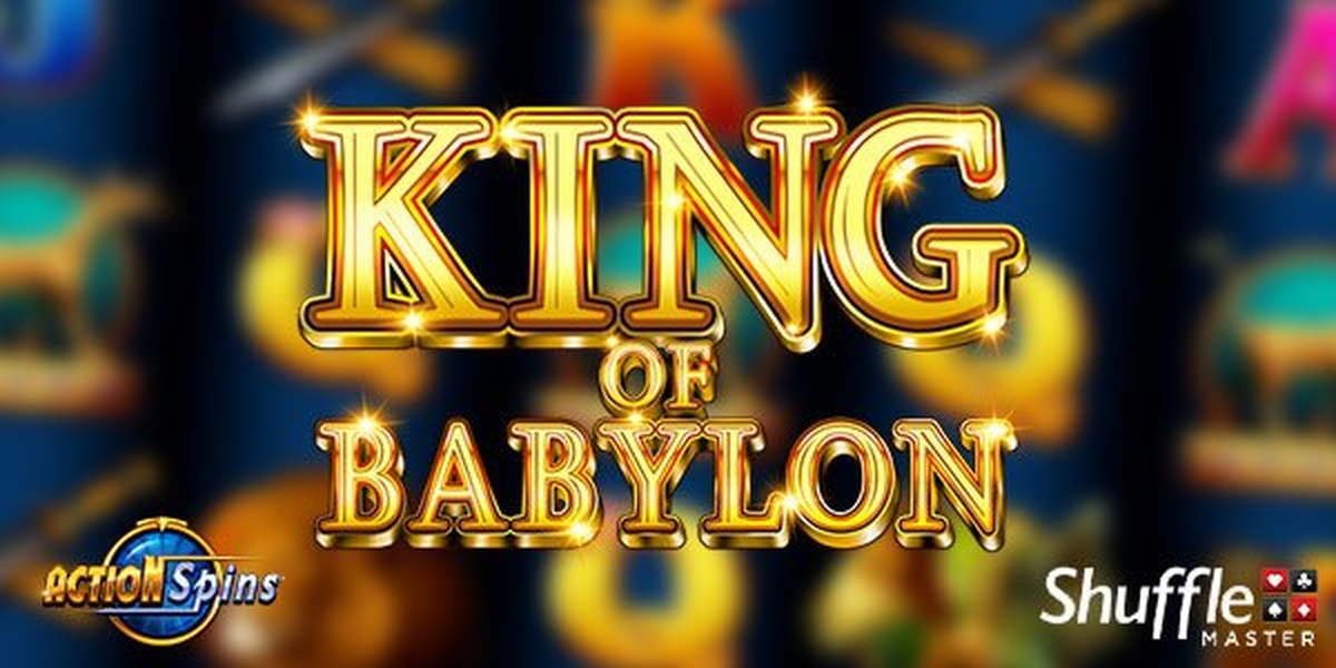 The King of Babylon Online Slot Demo Game by Shuffle Master
