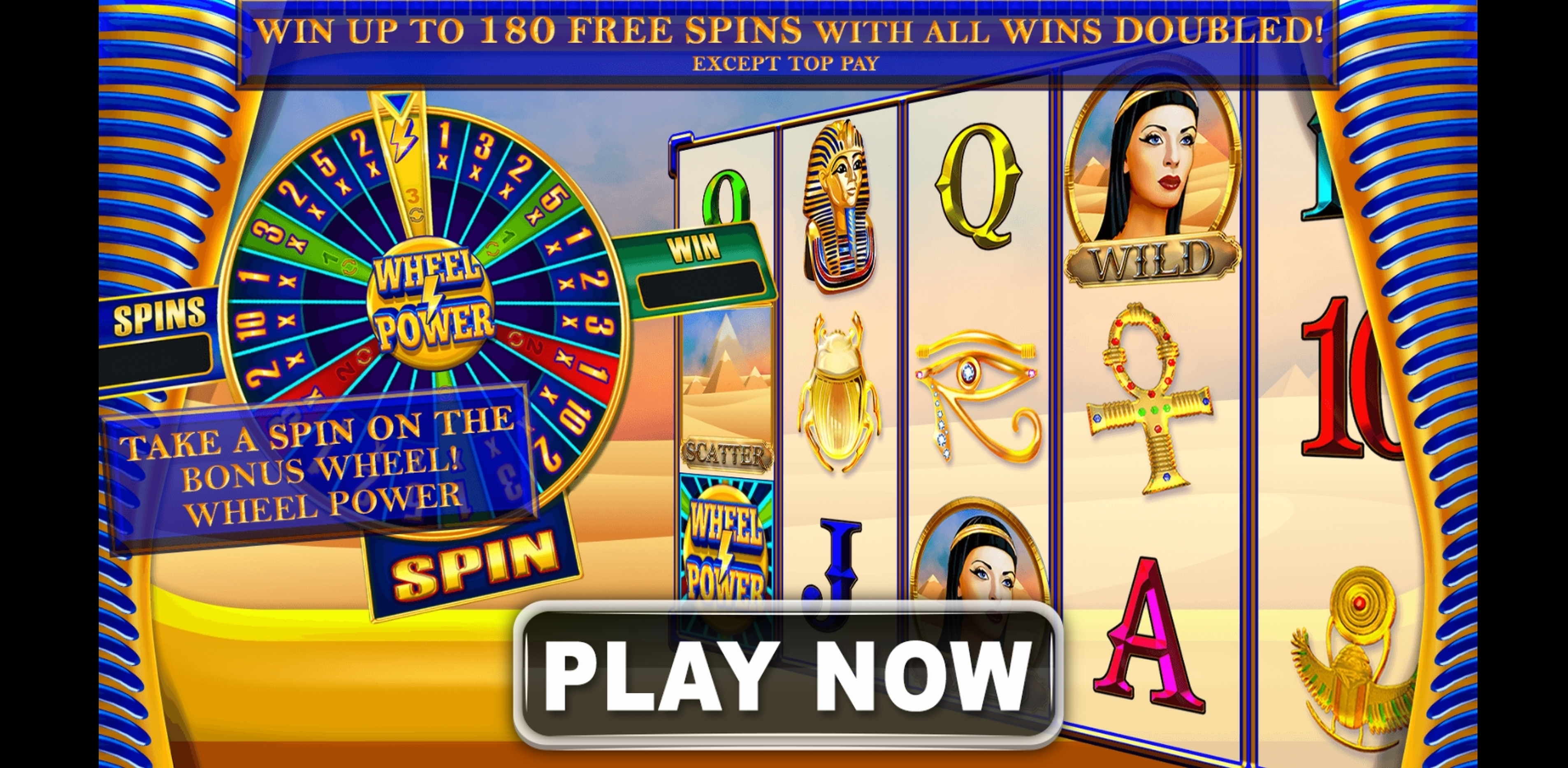 Play Wealth of the Nile Free Casino Slot Game by Spin Games