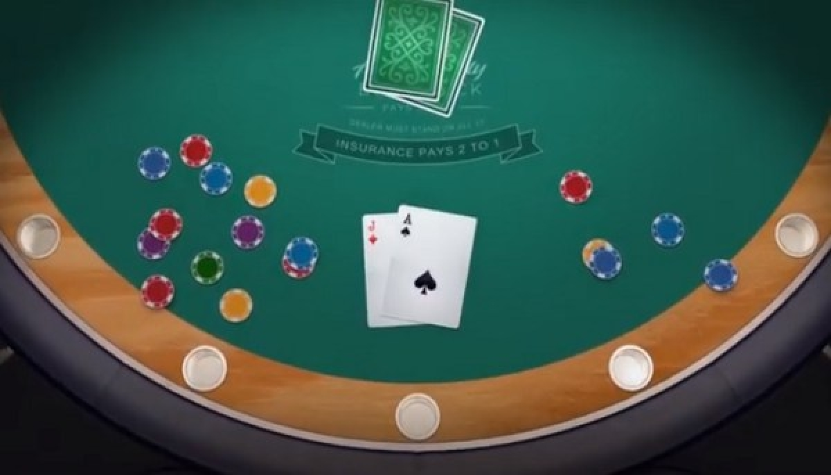 The Vegas Single Deck Blackjack (Switch Studios) Online Slot Demo Game by Switch Studios