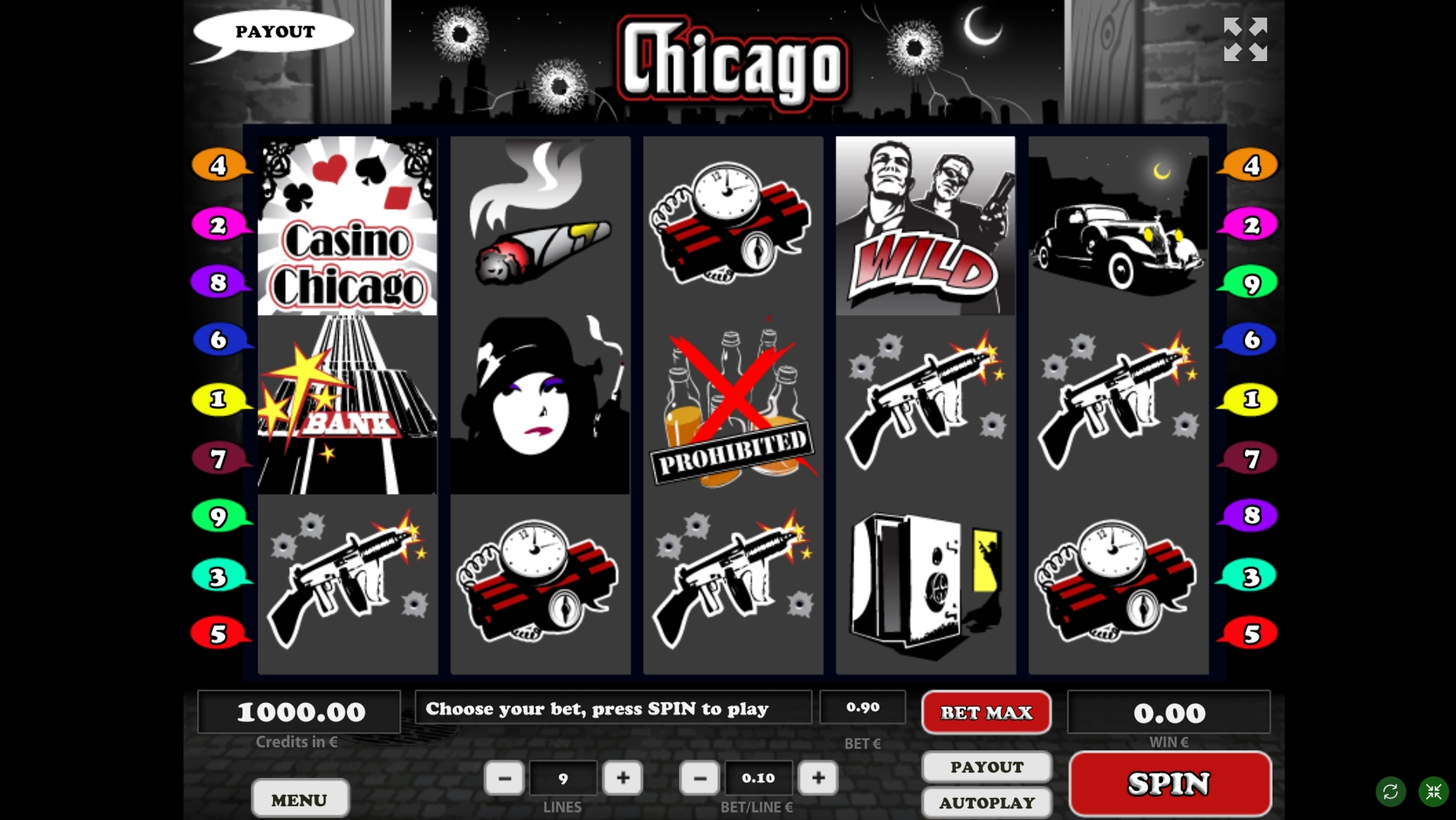 Reels in Chicago (Tom Horn Gaming) Slot Game by Tom Horn Gaming
