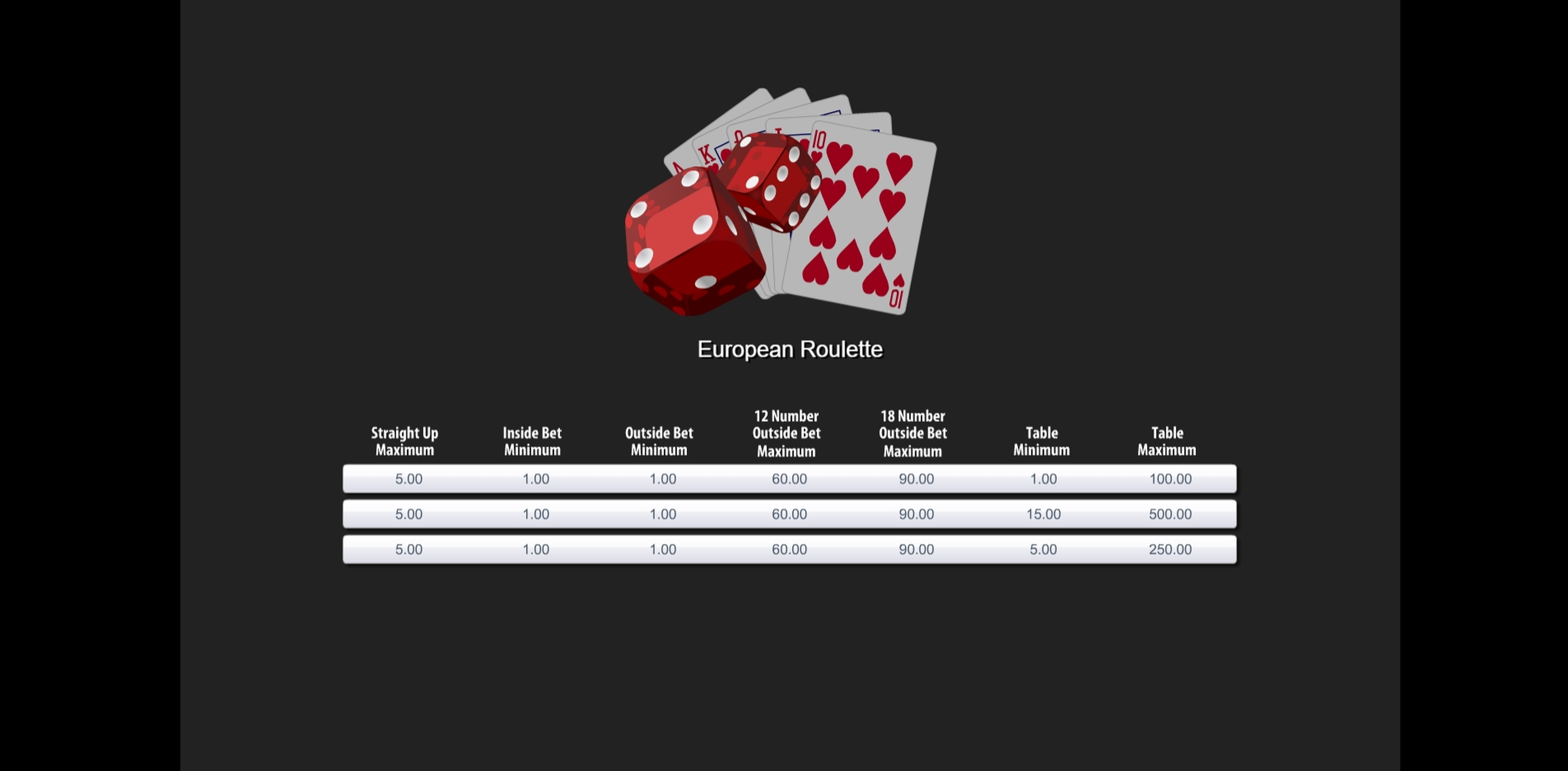 Play European Roulette (Top Trend Gaming) Free Casino Slot Game by Top Trend Gaming