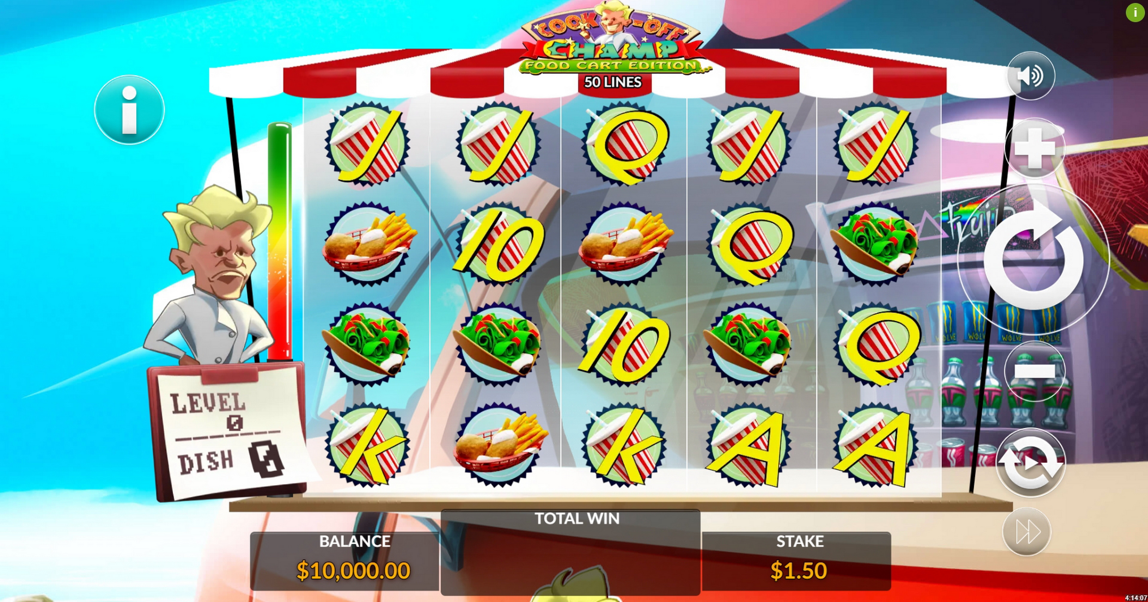 Reels in Cook-Off Champ Slot Game by Maverick