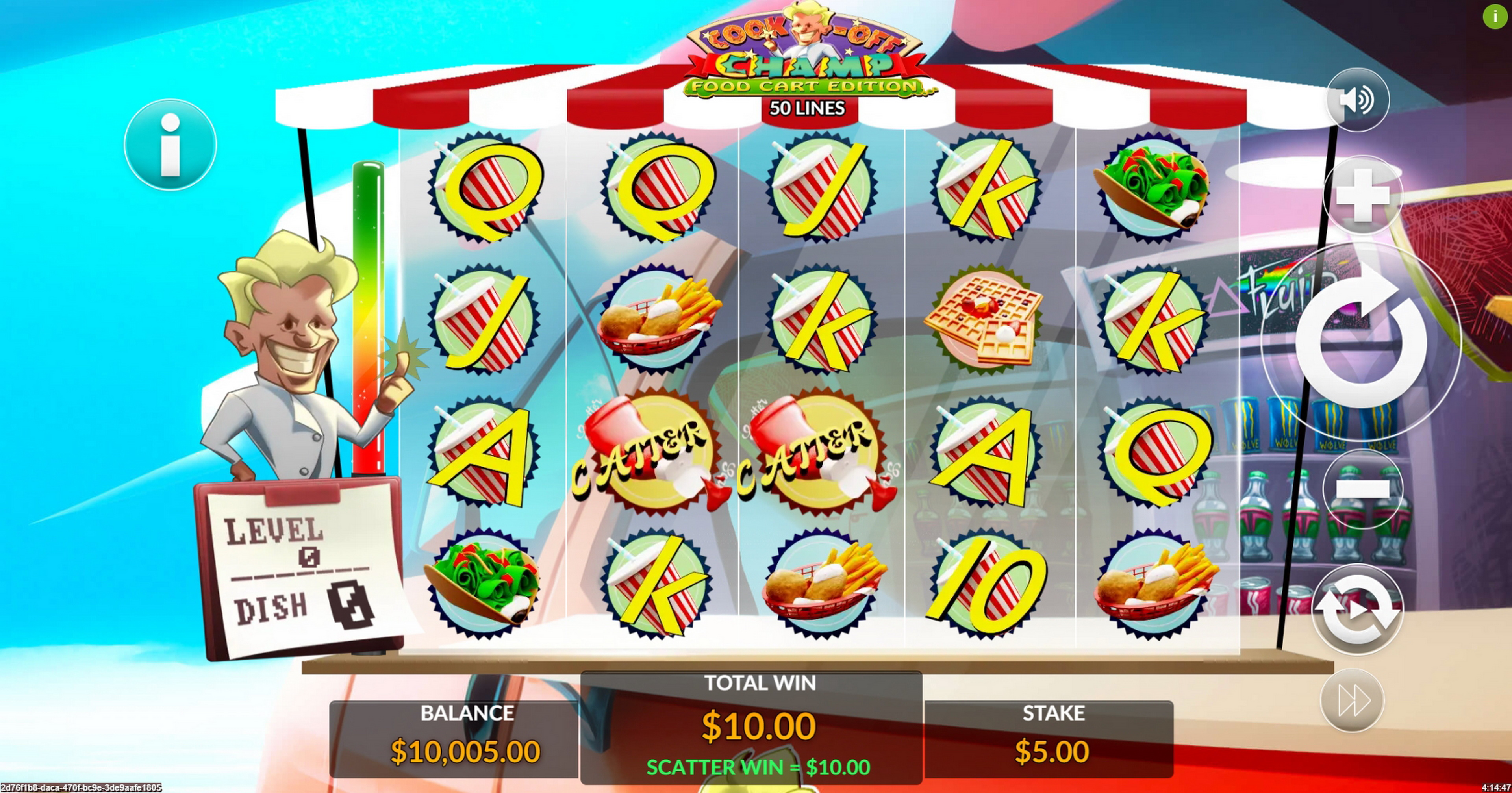 Win Money in Cook-Off Champ Free Slot Game by Maverick