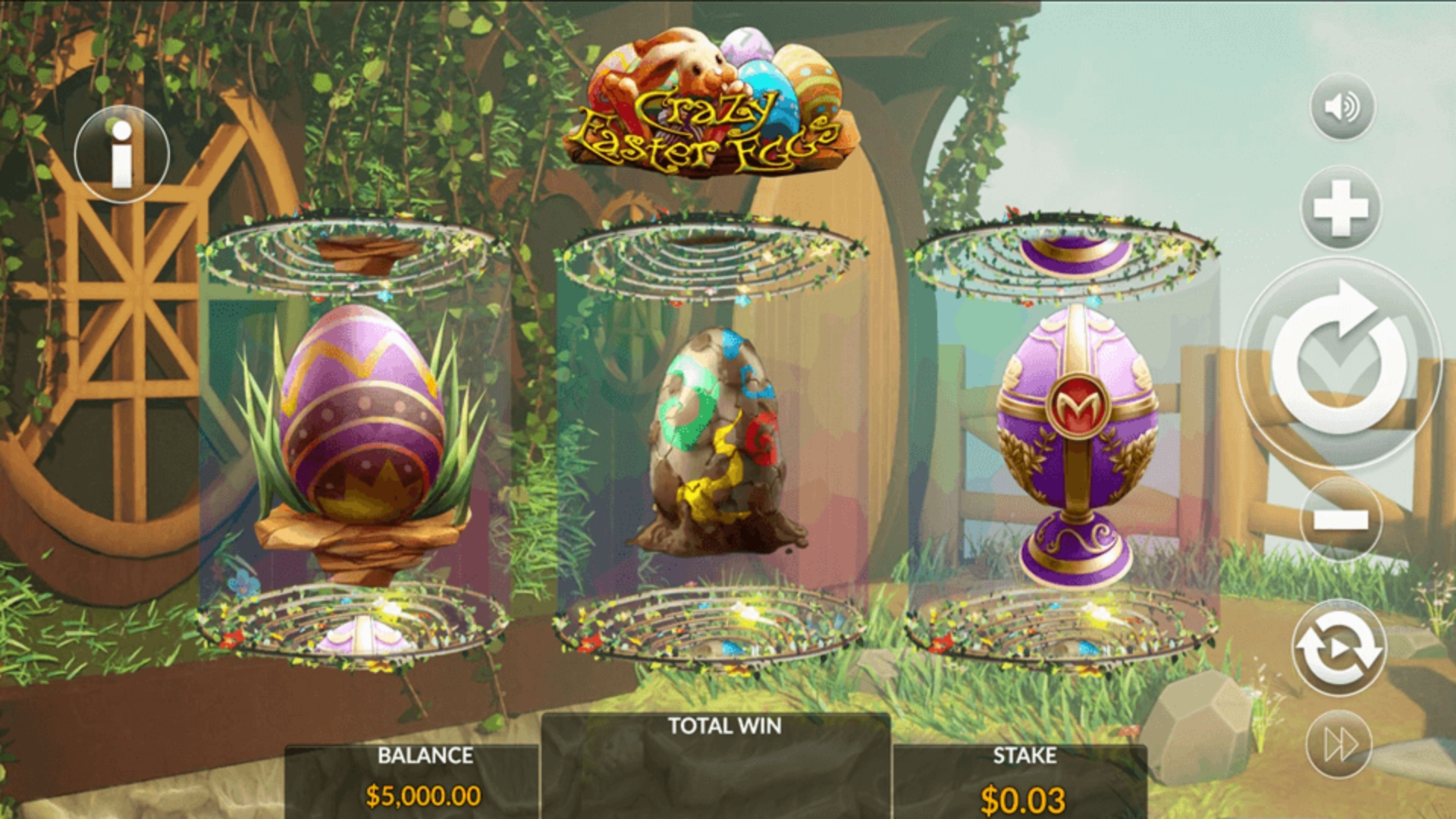 The Crazy Easter Eggs Online Slot Demo Game by Maverick
