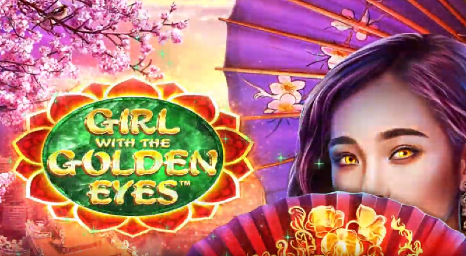 The Girl with the Golden Eyes Online Slot Demo Game by Wild Streak Gaming