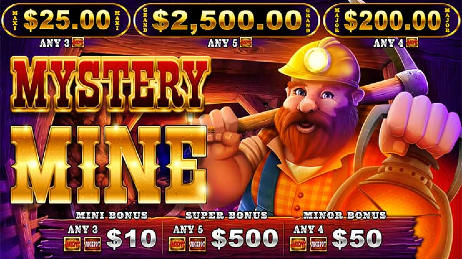 The Mystery Mine Online Slot Demo Game by Wild Streak Gaming